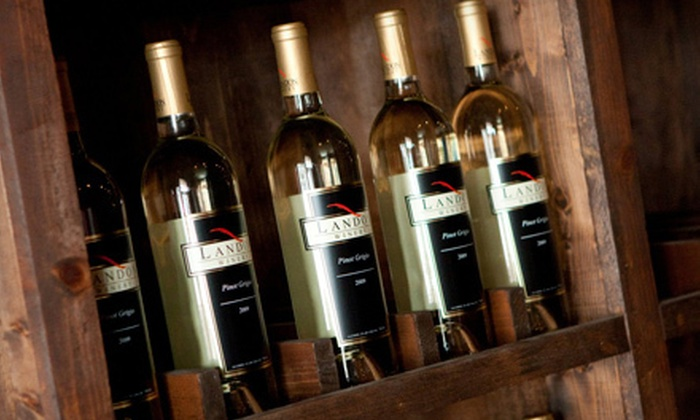 Landon Winery - Multiple Locations: Winery Experience with Wineglasses for Two or Four at Landon Winery (Up to 52% Off)