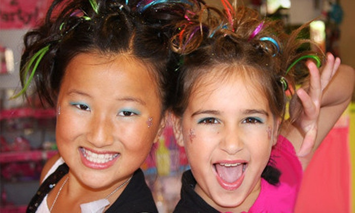 Sweet & Sassy - Old Bridge: Kids' Makeover for One or Makeover Party for Four at Sweet & Sassy (Up to Half Off)