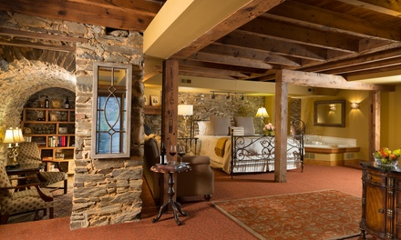 Stay with Daily Champagne and Salon or Spa Credits at The Inn at Leola Village, PA. Dates into April 2018.