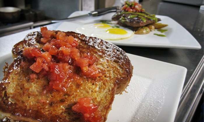 Flat Iron Grill - Gilman: Contemporary Steak-House Cuisine for Dinner, Lunch, or Brunch at Flat Iron Grill (Half Off)