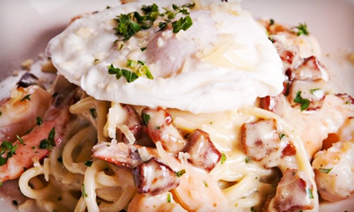 Portalli's - Ellicott City: Sunday Brunch for Two with Unlimited Bloody Marys and Mimosas or $25 for $50 Worth of Italian Food at Portalli's