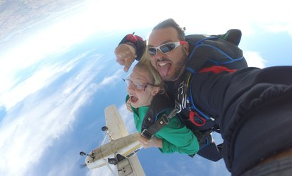 One Tandem Skydive for One or Two People at Skydive Houston (Up to 35% Off)