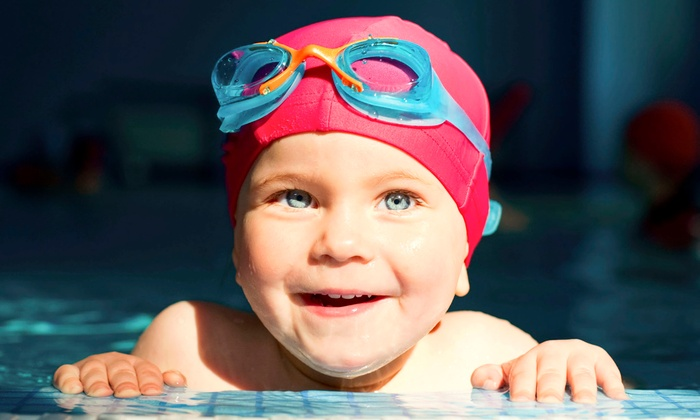 Medford Fitness - Medford: Four Swim Lessons for Babies, Pre-Schoolers, Beginners, or Juniors or a Pool Party at Medford Fitness (Up to 63% Off)