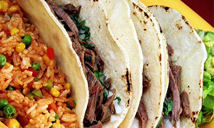 El Arado Mexican Grill - Fountain Square: Mexican Cuisine at El Arado Mexican Grill (Half Off). Two Options Available.