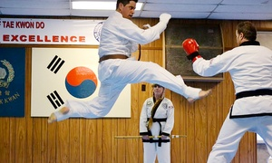 Kim School of Tae Kwon Do: Martial-Arts Class Packages at Kim School of Tae Kwon Do (Up to 74% Off). Three Options Available.