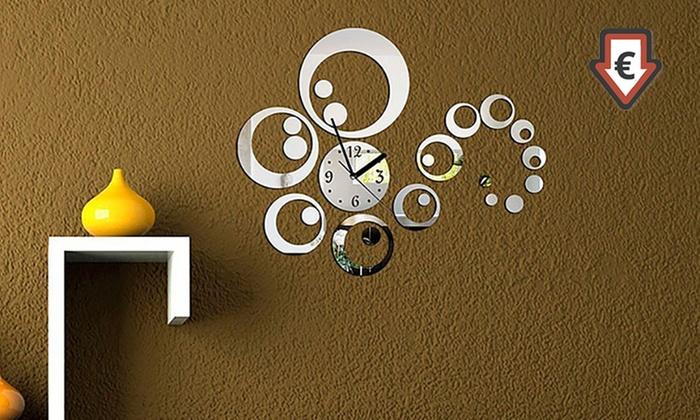 Tessere mosaico o orologio groupon goods for Parete a mosaico