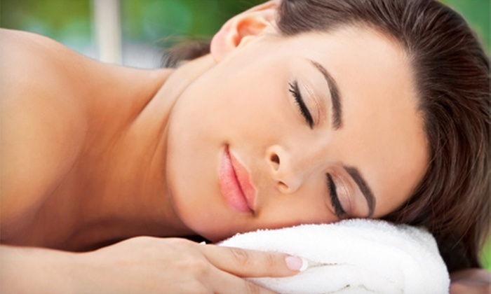 Sanative Tranquility - Tallmadge: $60 for a 70-Minute Full-Body Massage with Aromatherapy, Polish, and Facial Wrap at Sanative Tranquility ($125 Value)