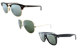 Unisex Ray-Ban Sunglasses. Multiple Styles Available at Ray-Ban Unisex Sunglasses, plus 6.0% Cash Back from Ebates.