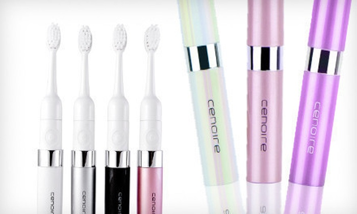 Cenoire Eluo Sonic Toothbrush: $15 for a Cenoire Eluo Sonic Toothbrush ($29.99 List Price). Free Shipping. Nine Styles Available.