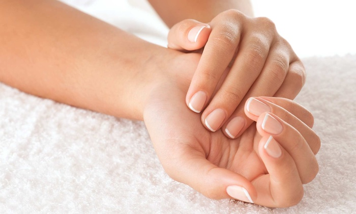 Vickie Le at Skye Salon and Spa - Highlands Ranch: Shellac Manicure or Spa Pedicure Package at Vickie Le at Skye Salon and Spa (Half Off)