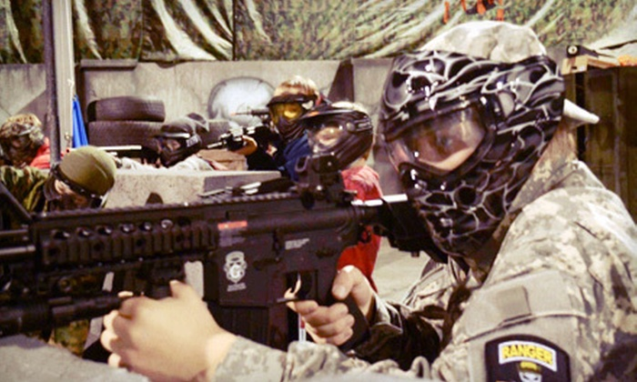 SS Airsoft - Sugar Hill: All-Day Airsoft Outing with Rental-Equipment Option for Two at SS Airsoft in Sugar Hill (Up to 59% Off)