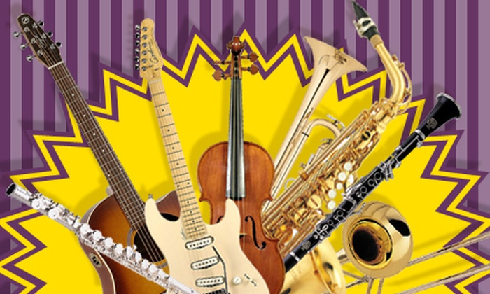 King's Music - Clearbrook Commercial: Music Equipment, Rentals, Repair, and Sheet Music at King's Music (Up to 53% Off). Two Options Available.