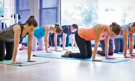One 10-, 20-, or Unlimited Class Yoga Pass at Fitness Yoga Studios (Up to 59% Off)