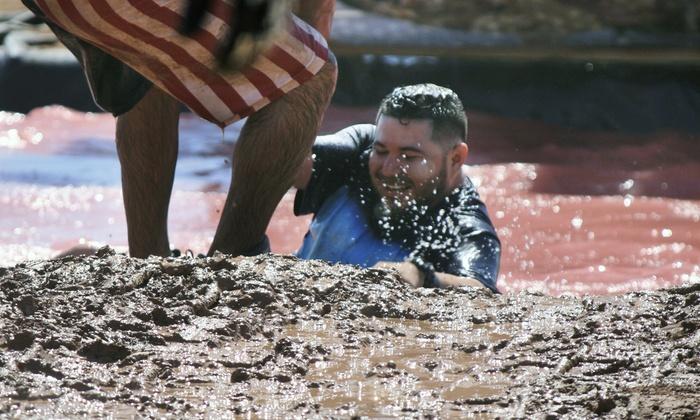 Samurai Sprint Mud Run - Westport: $55 for One Entry to the 5K Samurai Sprint Mud Run on Saturday, July 19 (Up to $100 Value)