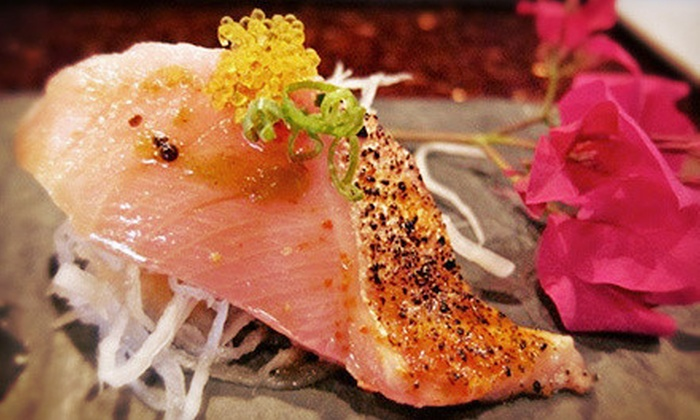 Aroma Restaurant and Sushi - Kenwood: Asian Cuisine and Sushi for Parties of Two or More or Four or More at Aroma Restaurant and Sushi (Half Off)