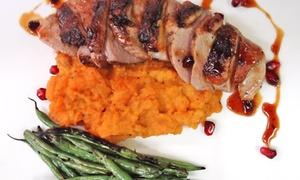 New Harvest Restaurant: New American Dinner for Two or Four at New Harvest Restaurant (Up to 42% Off)