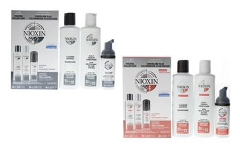 Nioxin Hair Care System 2 and System 4 (Kits, Singles or 2-Packs)