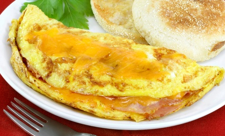 $18 for Two Groupons, Each Good for $15 Worth of Brunch Food at Eggsmart ($30 Value)
