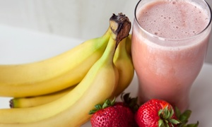 Green Zone Smoothie & Juice Bar: Five Small Tropical Smoothies or Four Large Tropical Smoothies at Green Zone Smoothie & Juice Bar (52% Off)