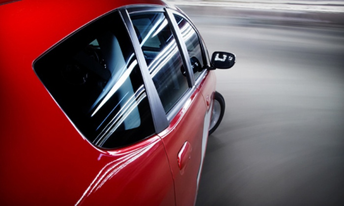 Santa Monica Car Sound - Mid-City: Tinting of Five Windows for a Sedan or SUV or Bluetooth Installation at Santa Monica Car Sound (Up to 53% Off)