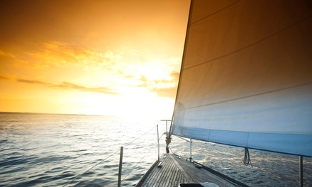 $99 for a 90-Minute Semiprivate Sail for One with One Portrait from Sailing on Biscayne Bay ($290 Value)