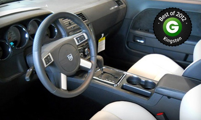 Jim Thompson Chrysler Dodge Jeep - Gardiners: $109.99 for a Platinum Detailing Package at Jim Thompson Chrysler ($249.99 Value)