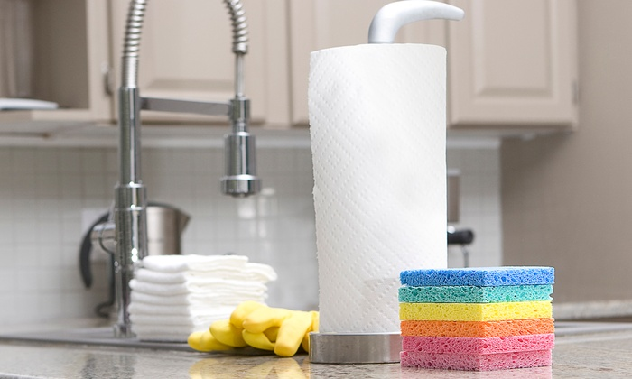 Busy Bee Housekeeping - Tampa Bay Area: One or Three Four-Man-Hour Housecleaning Sessions from Busy Bee Housekeeping (Up to 59% Off)