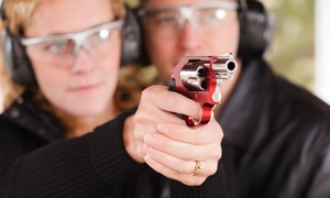 The Gun Shop & Indoor Range: $35 for a Valentine's Day Package for Two at The Gun Shop & Indoor Range ($70 Value)