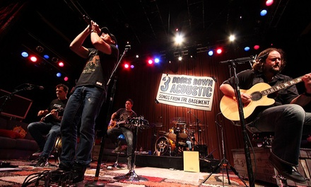 3 Doors Down Acoustic: Songs from the Basement at Hershey Theatre on August 5 at 8 p.m. (Up to 51% Off)