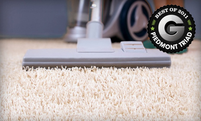Triad QuickClean - High Point University: Carpet Cleaning for Four Rooms or Up to Three Area Rugs from Triad QuickClean (Up to 69% Off)