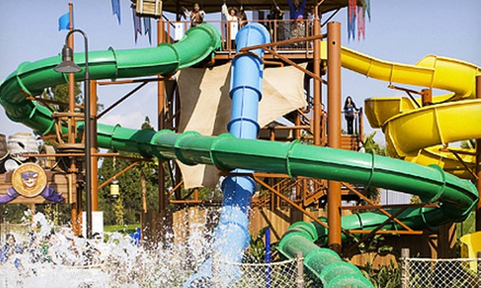 Splash! Buccaneer Bay Waterpark - La Mirada: Water Park Visit for Two at Splash! Buccaneer Bay Waterpark (Up to Half Off). Two Options Available.
