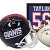 New York Giants Lawrence Taylor Autographed Memorabilia