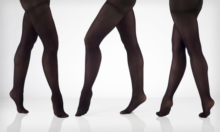 Adrienne Vittadini Microfiber Tights: $9 for a Two-Pack of Adrienne Vittadini Microfiber Tights ($20 List Price). Three Sizes Available.