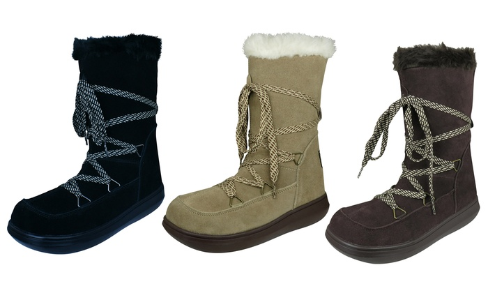 bff7655266513 Up To 69% Off Rocket Dog Suede Winter Boots | Groupon