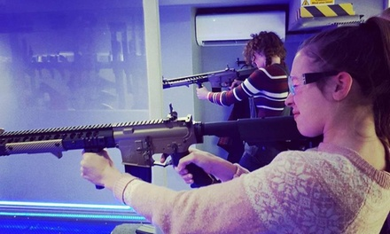 Air Soft Shooting Range Package or Adults Advanced Air Soft Shooting Range Package at Alpha Guns London (Up to 31% Off)