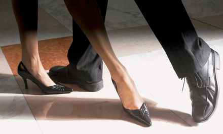 5 or 10 Group Dance Lessons and Entry to a Friday-Night Ballroom Dance Party (Up to 55% Off)