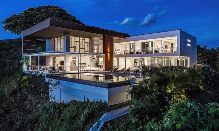 Delicieux Costa Rican Signature Homes Amid Tropical Jungle ...