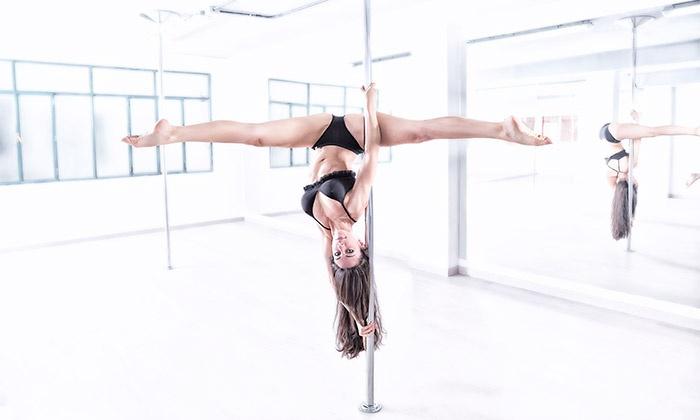 pole dance y telas aereas