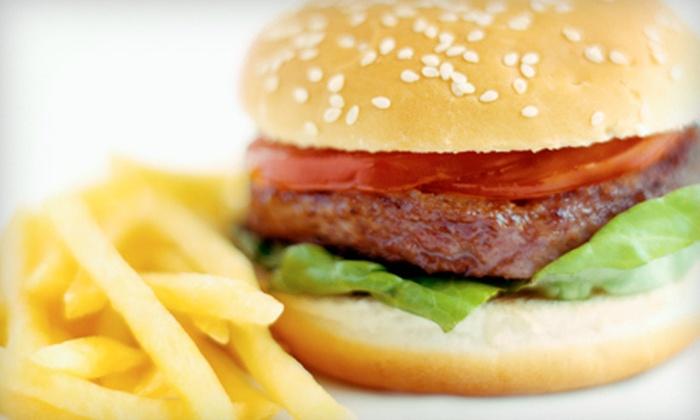 Corner Burger - Lawndale: Burger Meal for Two or Four at Corner Burger in Lawndale (Up to 52% Off)