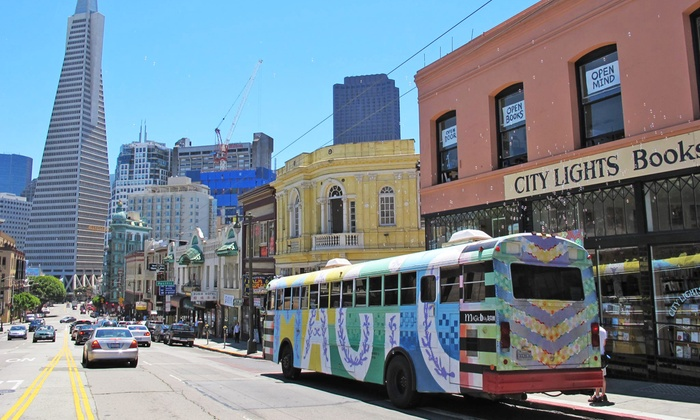 Magic Bus Tour - Union Square: $55 for a Two-Hour 1960s-Themed Tour for Two from Magic Bus Tour ($110 Value)