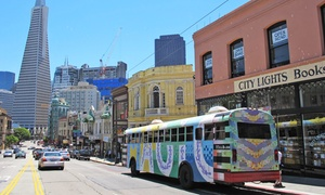 $55 For A Two-hour 1960s-themed Tour For Two From Magic Bus Tour ($110 Value)