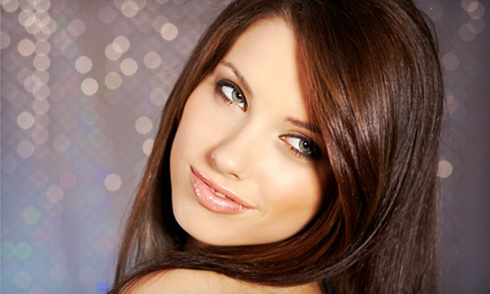 Studio 3040 - Lewisville: Hairstyling Package with Option for Partial or Full Highlights at Studio 3040 in Lewisville (Up to 61% Off)