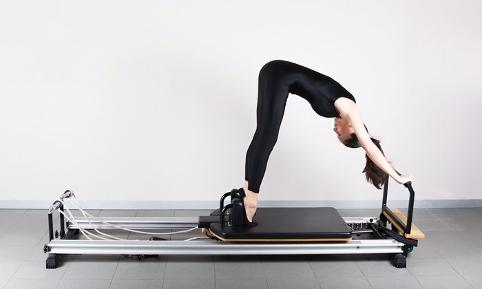 Pilates by T - Hinsdale: Three Group, Private, or Semiprivate Pilates Reformer Classes at Pilates by T (Up to 53% Off)
