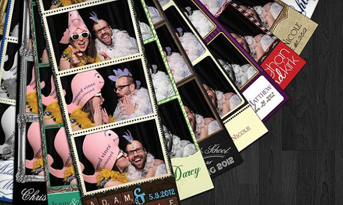 PerfectShoot PhotoBooth - Town N County Alliance: $375 for a Four-Hour Photo-Booth Rental with Unlimited Prints and Memory Book from PerfectShoot PhotoBooth ($775 Value)