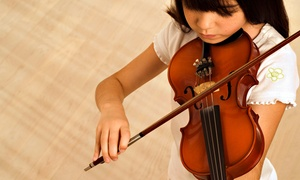 Antonio Strad Violin: Violin, Viola, Cello, or Bass Rental from Antonio Strad Violin (Up to 56% Off). Two Options Available.