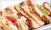 Lorida's Deli - Fort Worth: Sandwiches, Soups, and Party Platters at Lorida's Deli (Up to 53% Off). Three Options Available.