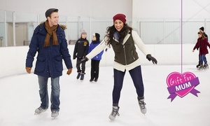 Xtreme Ice Arena: Ice-Skating + Skate Hire for 1 ($12) or 4 People ($40), or Family of 5 ($49) at Xtreme Ice Arena (Up to $90 Value)