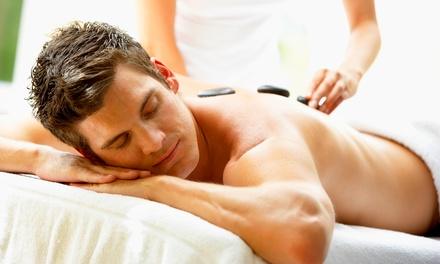 Up to 66% Off Warm-Stone Massage