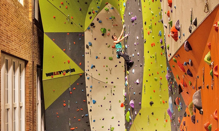 Climb So iLL - Near Lafayette Square: Indoor Rock Climbing at Climb So iLL (Up to 50% Off). Three Options Available.