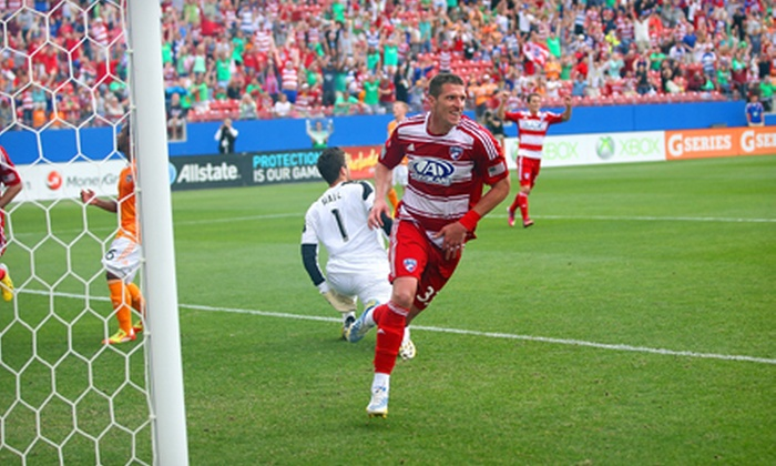 FC Dallas - Toyota Stadium: FC Dallas Youth Soccer Clinic with On-Field Experience and Tickets for One or Two on June 22 or July 13 (Up to 62% Off)
